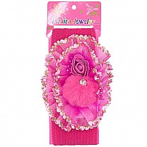 Beautiful Floral Design Baby Headband - Pink
