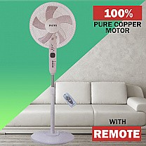 Baltra Rover Stand Fan With Remote (BF 172)
