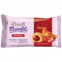 Bauli Moonfils Strawberry Puff Roll 45g