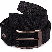 Textured Pin Buckle Belt For Men's