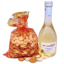 JP Chenet Medium Sweet Wine With Dry Nuts Combo