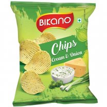 Bikano Cream & Onion Chips 30g