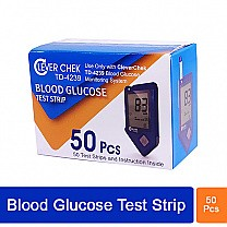 Clever Check TD-4239 Blood Glucose Test Strips (50 Pcs)