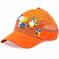 Jump to Embroidered Cap For Kids - Orange
