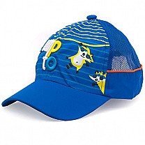 Jump to Embroidered Cap For Kids - Blue