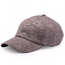 Camo Pattern Summer Cap For Men - Grey