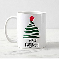 ''Merry Christmas'' Printed Mug Gift (03)