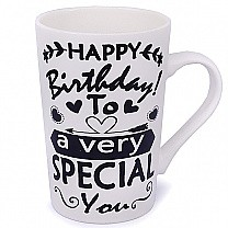 'Happy Birthday To A Very Special You' Ceramic Coffee Mug