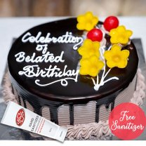 Chocolate Cake 1kg from Ageno Bakery (KTM only) - Free Sanitizer