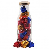 Glass Bottle With Assorted Chocolates