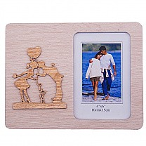 Couple Kissing Photo Frame - Table Top