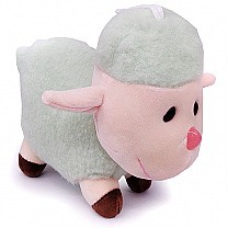 Cute Hanging Baby Sheep Soft Toy (Green)