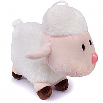 Cute Hanging Baby Sheep Soft Toy (Cream)