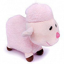 Cute Hanging Baby Sheep Soft Toy (Pink)