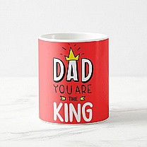 Dad You Are The King Printed Mug