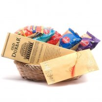 Old Durbar Whisky and Snacks Basket