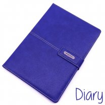 Premium Quality Diary PU Leather Notebook Midnight Blue