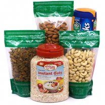 Dry Nuts With Oats & Horlicks