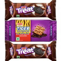 Britannia Tiger Krunch Choco Chips And Treats Combo