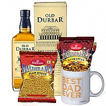 Father's Day Celebrations - Old Durbar Whisky, Snacks and #FD Mug
