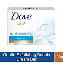 Dove Gentle Exfoliating Beauty Soap Bar 100gm