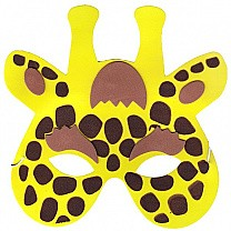 Soft Face Mask For Kids - Giraffe