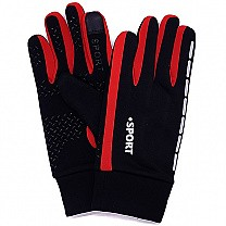 Winter Riding Gloves For Men - Red