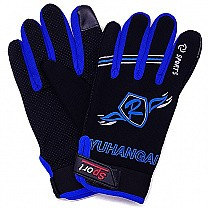 Sport Riding Gloves For Men (Blue)