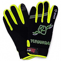 Sport Riding Gloves For Men (Green)