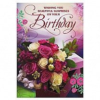 Wishing You Beautiful Surprises On Your Birthday - Greeting Card