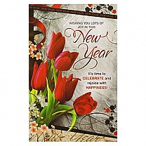 Wishing You Lots Of Joy In This New Year - Greeting Card
