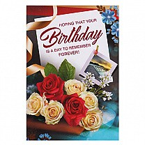 Hoping That Your Birthday - Greeting Card