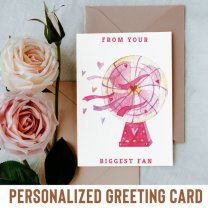 From Your Biggest Fan Greeting Card