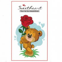 Sweetheart You're So Irresistible! - Greeting Card