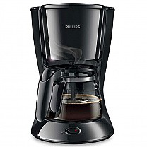 Philips Coffee Maker with Glass Jug Black (HD7447/20)