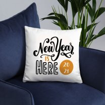 ''New Year Is Here 20201'' Printed Cushion Gift (03)