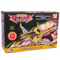 360° Revolving Flash Plane Toy For Kids (3+ Years)