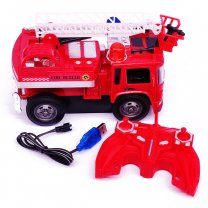 R/C Fire Extinguisher Truck For Kids (6+ Years) - Model 2
