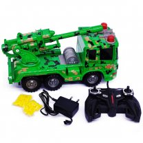Rocket Chariots R/C Truck For Kids (8+ Years) - Green