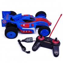 Captain America Remote Control Racing Car For Kids (6+ Years)