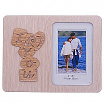 """""""I Love You"""" Photo Frame - Table Top"""