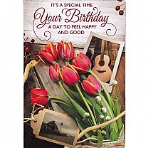 It's A Special Time Your Birthday - Greeting Card