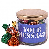 Personalized Message Candy Jar
