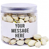 Pistachio In Personalize Message Jar - 200gm