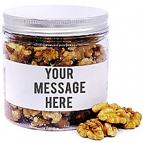 Walnuts In Personalize Message Jar - 150gm