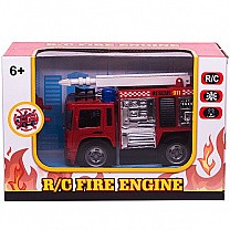 R/C Fire Extinguisher Truck For Kids (6+ Years) - Model 1