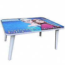 Compact Foldable Study Table For Kids (Frozen's Princess)