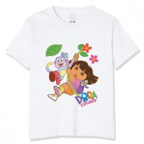 Dora With Boots Design T-shirt For Kids