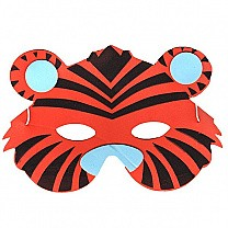 Soft Face Mask For Kids - Leopard