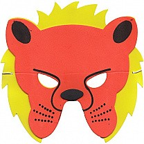 Soft Face Mask For Kids - Lion